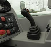 Boom wiring harness and controls in cab - Feature Image