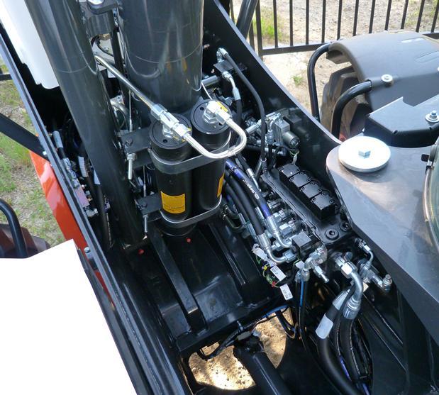 Komfort – Teleskoplader Auslegerfederung (Boom Suspension System, BSS)