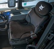 High comfort air suspension seat Feature Image