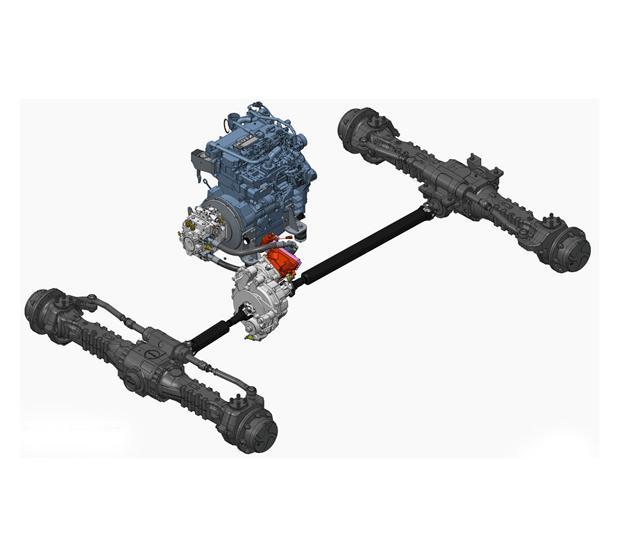 Leistung – Teleskoplader Hydrostatikantrieb