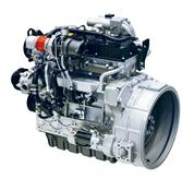 Motor met turbocompressor: Bobcat D34