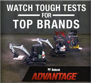 Bobcat Advantage video series compares top compact equipments brands.