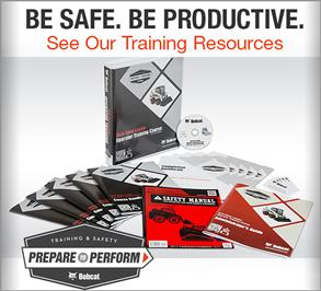 Training and safety resources promo badge.