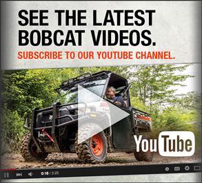 Bobcat equipment videos on YouTube.