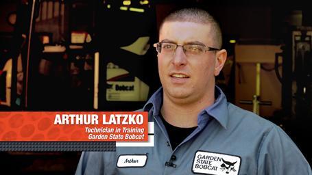 Headshot of Garden State Bobcat service technician Arthur Latzko.