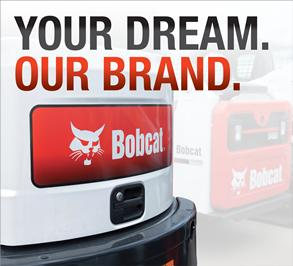 Bobcat dealerships match your career dreams with our brand.