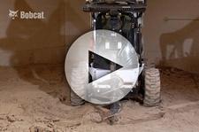 Bobcat Auger Digging Depth on a CTL