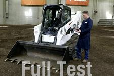 A video about testing pressurized cabs on a compact track loader.