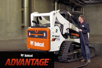 Video overview of cooling systems inside compact track loaders.