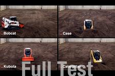 Bobcat compact track loader video about a performance test.