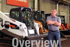 Bobcat compact track loader video about hydraulic power.