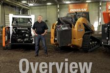 A video about the benefits of quickly maintaining compact track loaders.