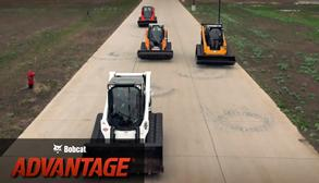 Bobcat Advantage travel speed test.