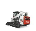 Bobcat T590 compact track loader.