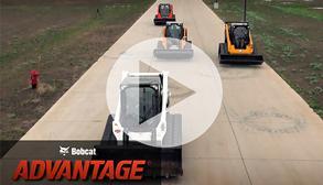Bobcat Advantage travel speed test.