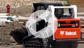 Bobcat M2-Series loader video.