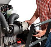Repair on One-Side Engine Maintenance on Bobcat Compact Tractors
