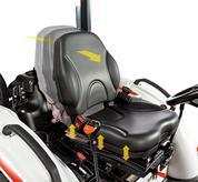 Comfortable Suspension Seats in Bobcat Compact Tractors