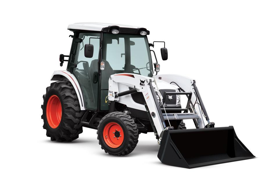 "=""Bobcat CT5550 Compact Tractor With Front-End Loader"