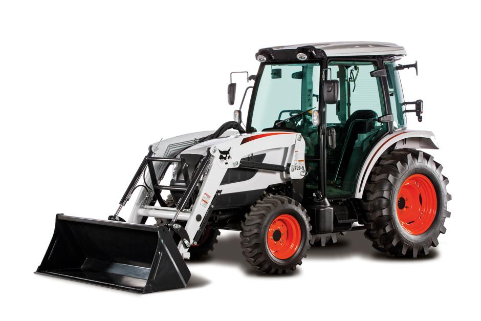 Bobcat CT5558 Compact Tractor Model with Front-End Loader