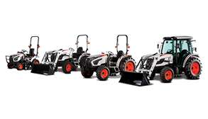 Shot Of Bobcat Compact Tractor Size Class Lineup