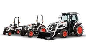 Bobcat Compact Tractor Lineup Studio Image
