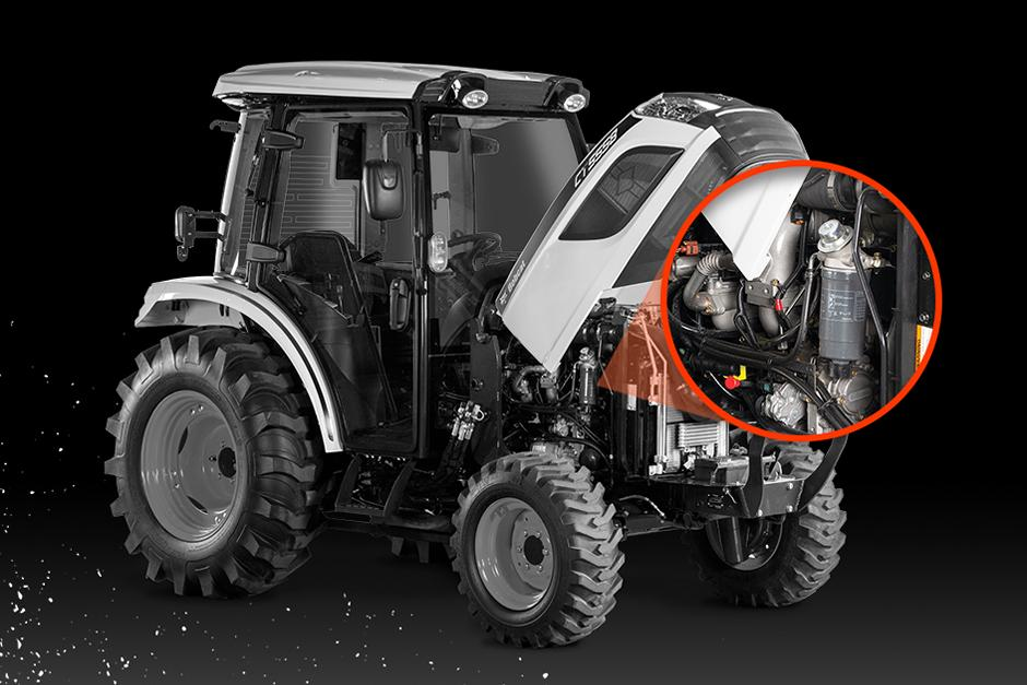 """""""Compact Tractor Routine Maintenance Illustration"""