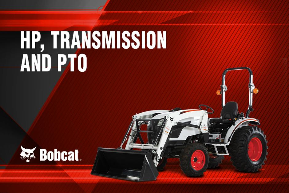 Bobcat Compact Tractor Engine Horsepower Tractor Talk Video Title Graphic