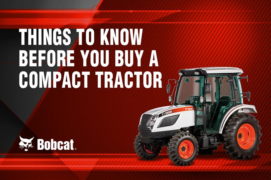 Tractor Talk Title Graphic For Things To Know Before You Buy A Compact Tractor Video