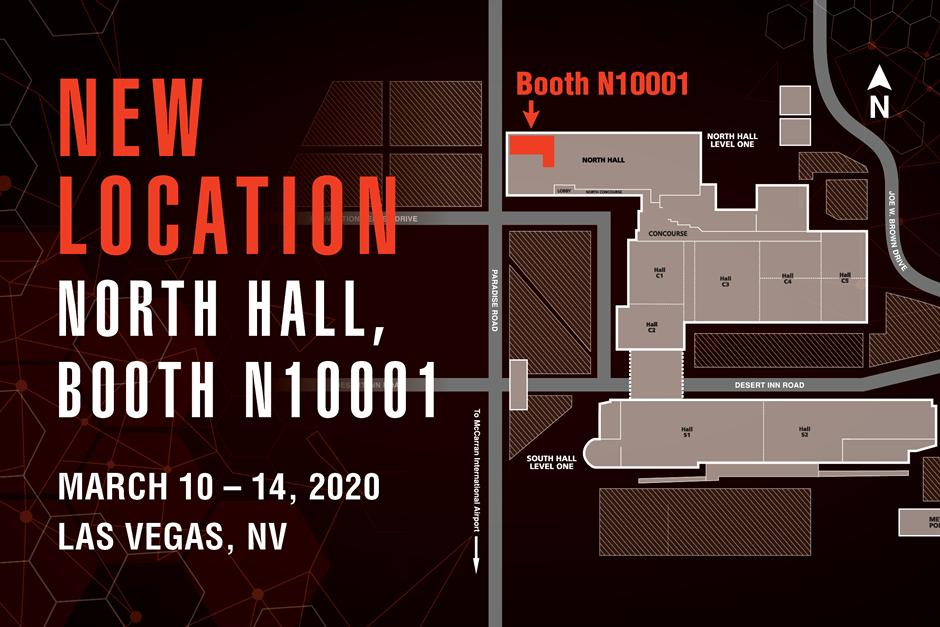 Map Showing Bobcat Booth At CONEXPO