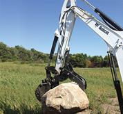 Pro-Clamp system for Bobcat compact excavators.
