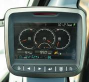 In-Cab Color Display In The Bobcat 14-16T Size Class Large Excavator Cab
