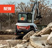Bobcat E42 Compact Excavator Cooling System