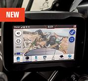 Rearview Camera Inside R2-Series Compact Excavator Cab