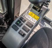 Hydraulic Pin-Grabber Button On Operaor Controls