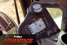 Bobcat Advantage video featuring the depth check system in Bobcat compact (mini) excavators.