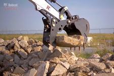 Bobcat compact (mini) excavators Pro Clamp system comparison video.