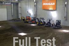Travel speed test video for Bobcat compact (mini) excavators.