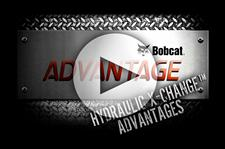 Bobcat compact excavator (mini excavator) hydraulic X-change advantage video.