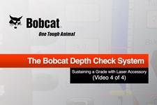 Depth Check Sustaining Grade with Laser