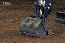 Bobcat compact (mini) excavator attachment comparison test video.