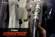 Video featuring the Bobcat E35 compact (mini) excavator showing hydraulics..
