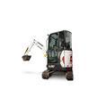 Bobcat E20 compact (mini) excavator.
