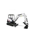 Bobcat E32 R-Series compact excavator.