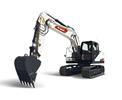 Bobcat E165 R-Series compact excavator.