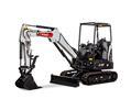Bobcat E32 R-Series compact excavator