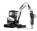 Bobcat E35 (33 hp) compact excavator (mini excavator).