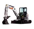 R2-Series E50 Mini Excavator Studio Shot