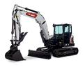 Bobcat E88 compact excavator (mini excavator).