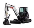 Bobcat E60 compact excavator (mini excavator).
